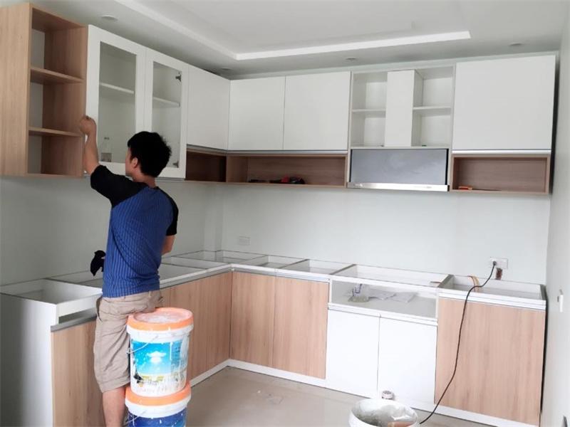 Xưởng đóng tủ bếp giá rẻ ở HCM và tại Bình Dương