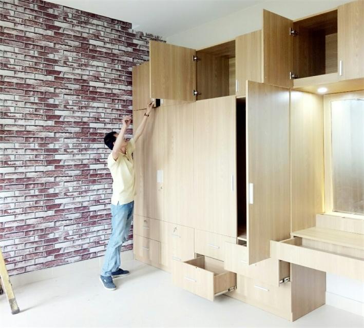 Xưởng mộc đóng tủ gỗ theo yêu cầu giá rẻ
