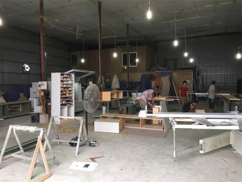 Xưởng mộc thiết kế và thi công giá rẻ tại quận 5